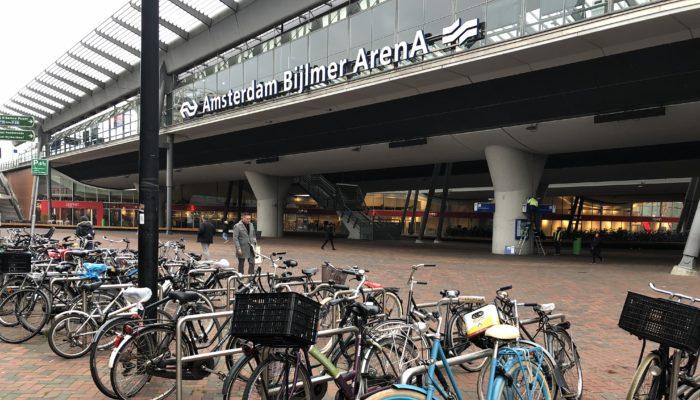 Meerfietsenbij Bijlmer Arena