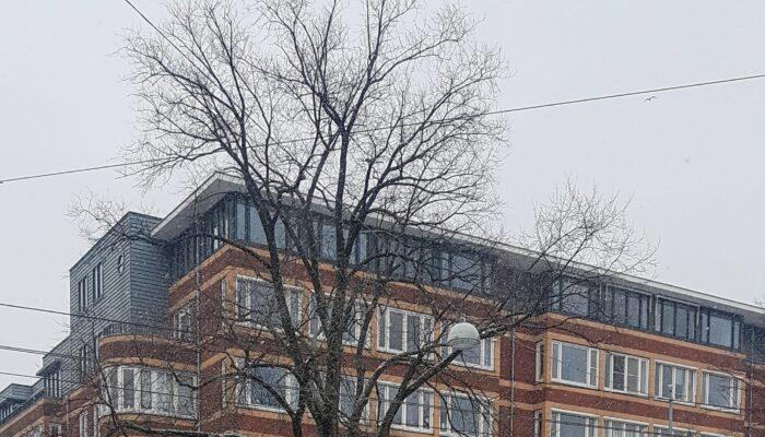 GVB Bouwt Brug Over Beethovenstraat