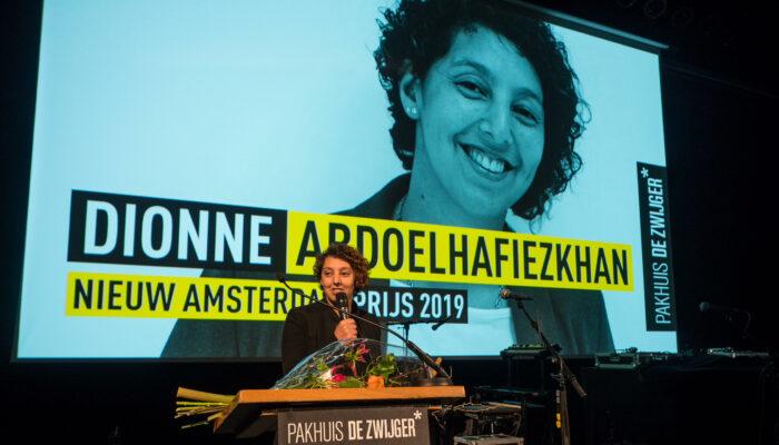 Nieuw Amsterdam Prijs Voor 'onze' Dionne