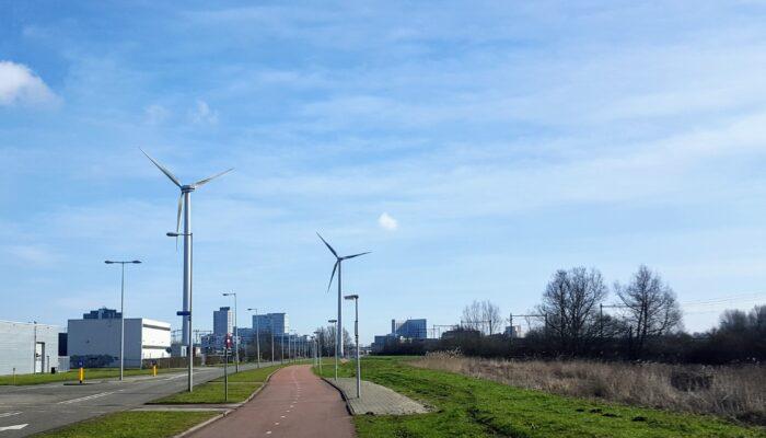 Nieuwe Windmolens Op Westpoort