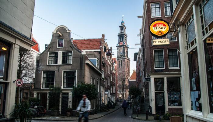Stappen In Centrum Niet Voor Amsterdammers