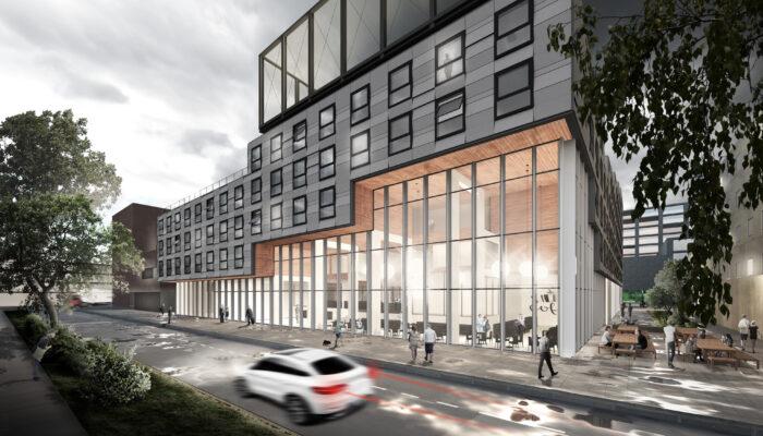 Nieuw Studentencomplex In Houthaven