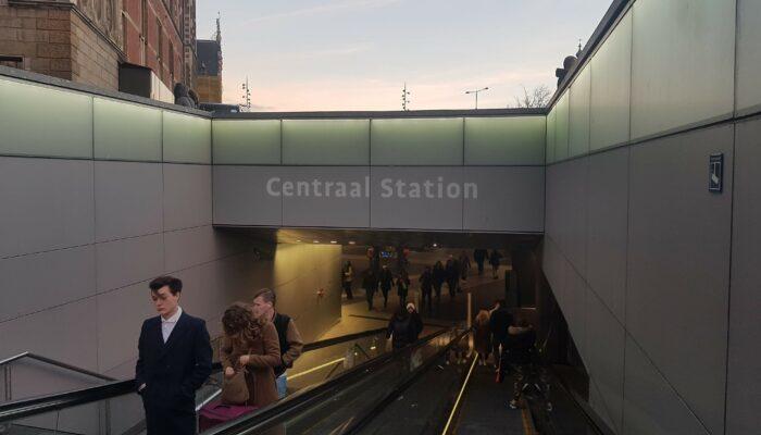 Straks Overstappen Van Fiets Op Metro Bij CS