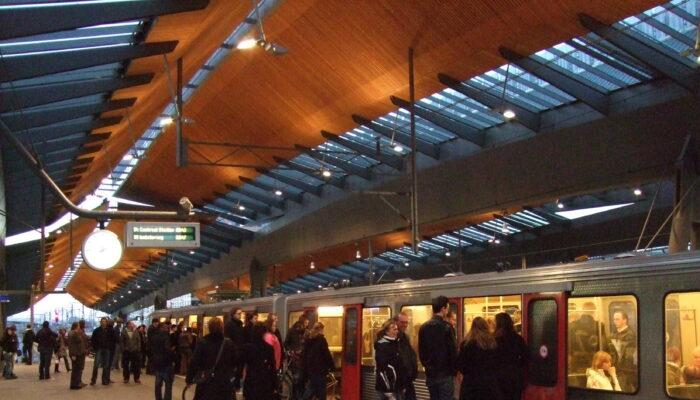 Speciale Camera's Houden Station Rustig
