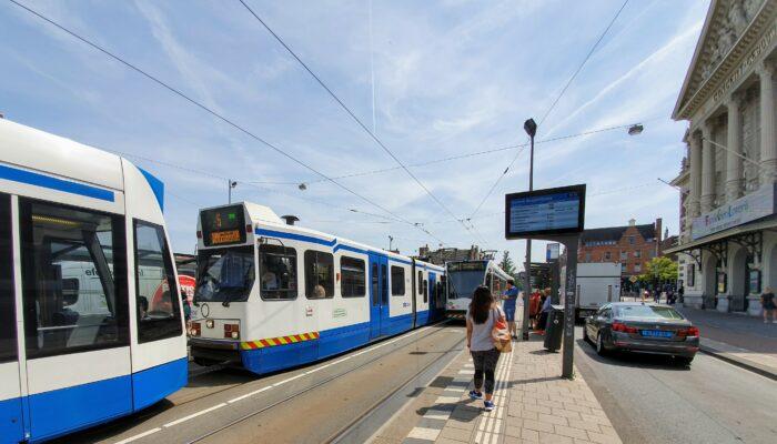 Bus Vervangt Tramlijnen 5 En 6