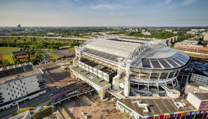 Arena En RAI Verkennen Drone-opties