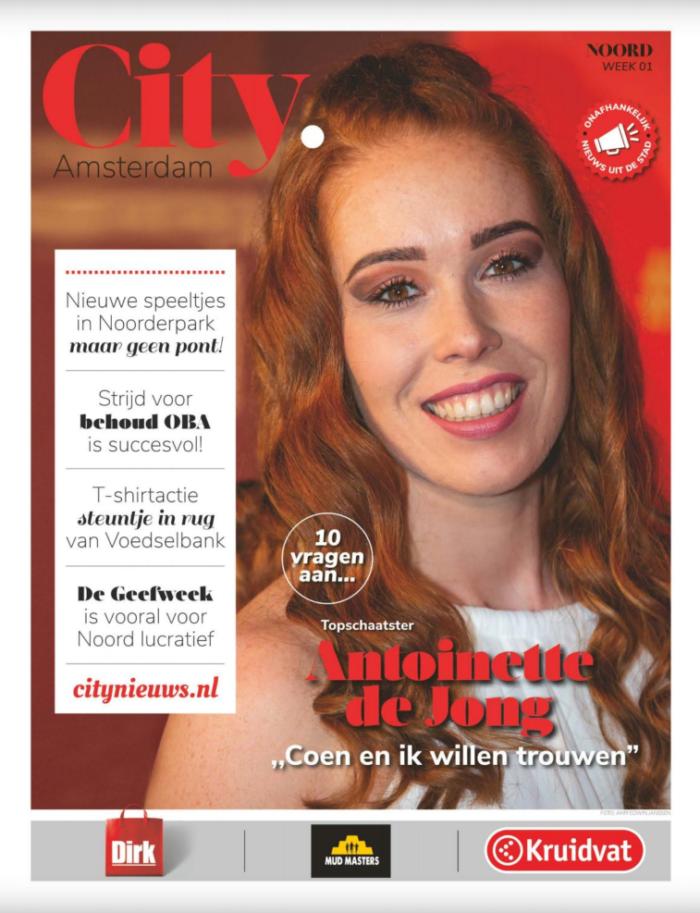 10 Vragen Aan... Antoinette De Jong