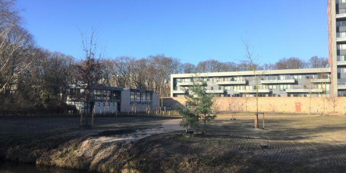 Een Aanzienlijk Deel Van Het Buurtpark Op Het Voormalig Sportcomplex Is Al Gereed.