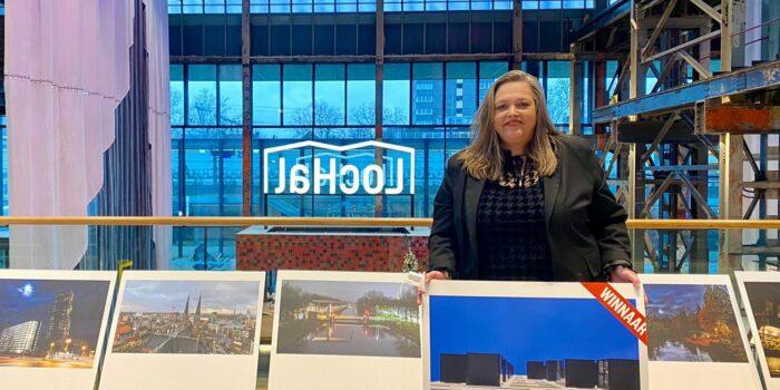 Kersverse Stadsfotograaf Cornelissen Met Haar Winnende Foto