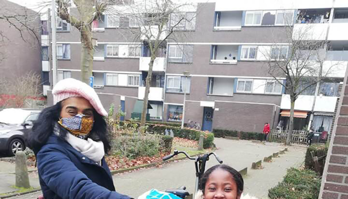 Romy Is De Jongste Held Van Amsterdam!