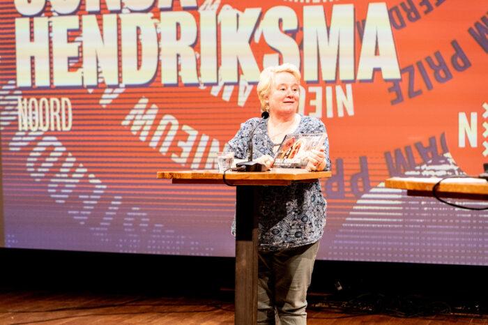 Sonja Hendriksma Won De Nieuw Amsterdam Prijs