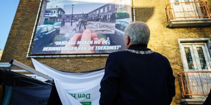 De Burgemeester In De Burgemeestersbuurt In Loosduinen.