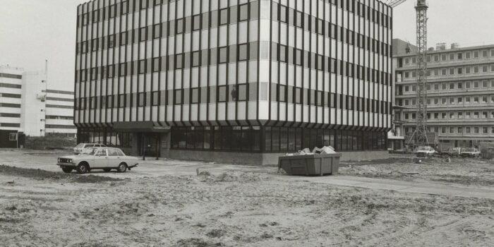 Archiefbeeld Van Hogehilweg Nummer 13 Uit 1982, Dit Is één Van De Gebouwen Die Gesloopt Wordt, Ten Gunste Van SPOT.