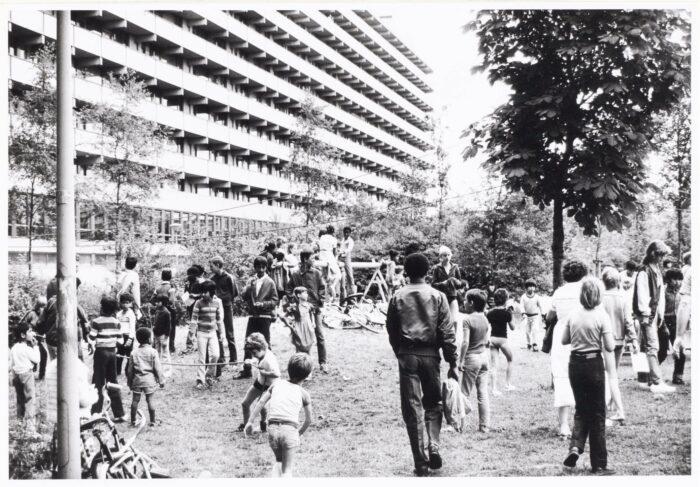 Juli 1981: Het Kon Ook Heel Gezellig Zijn In De Gliphoeve.