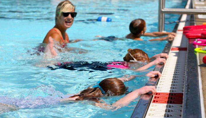 Inhaalslag Voor Zwemlessen Kinderen