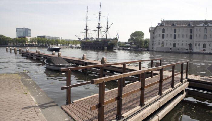 VOC-schip Amsterdam Weer Terug Op Vaste Stek