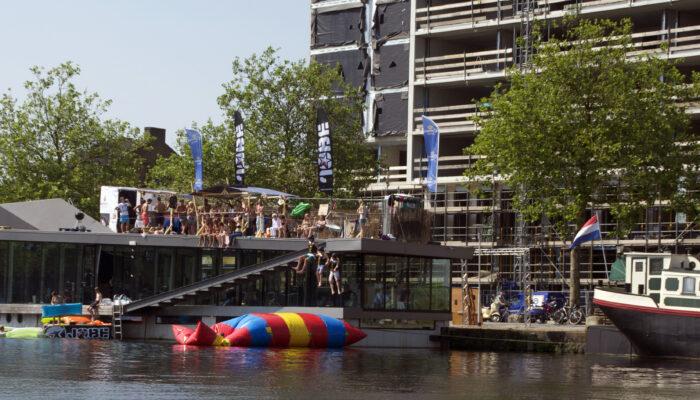 Geen Drijvend Zwembad In De Piushaven