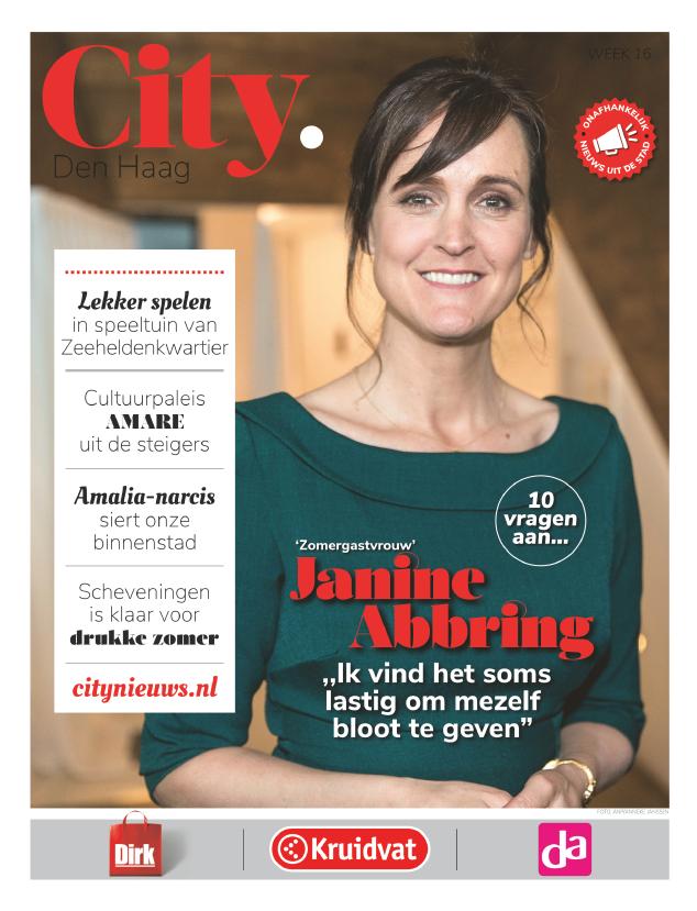 10 Vragen Aan... Janine Abbring