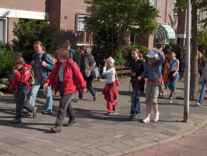 De Avond4daagse Loop Je Dit Jaar Niet In Een Groep.