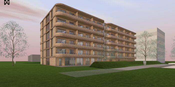 138 Appartementen Voor Kwetsbare Mensen Op Woonzorgpark Rosenburg.