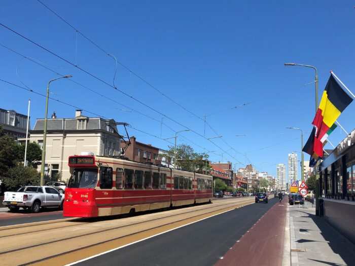 Er Is Gewerkt Aan De Tramlijn In De Prins Willemstraat, Jurriaan Kokstraat, Badhuiskade En (op Foto) De Gevers Deynootweg.