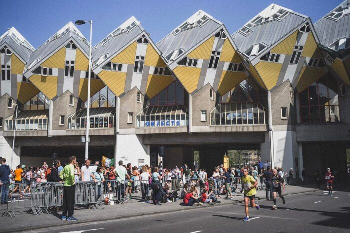 De NN Marathon Rotterdam.