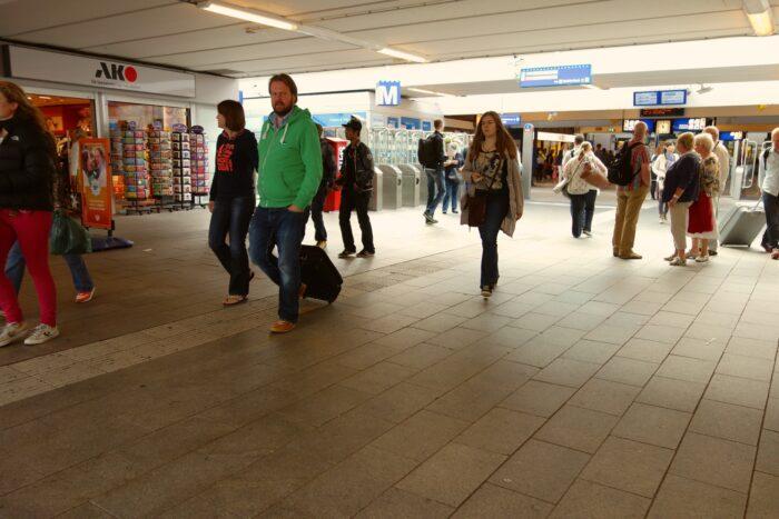 Het Huidige Station Amsterdam Zuid.