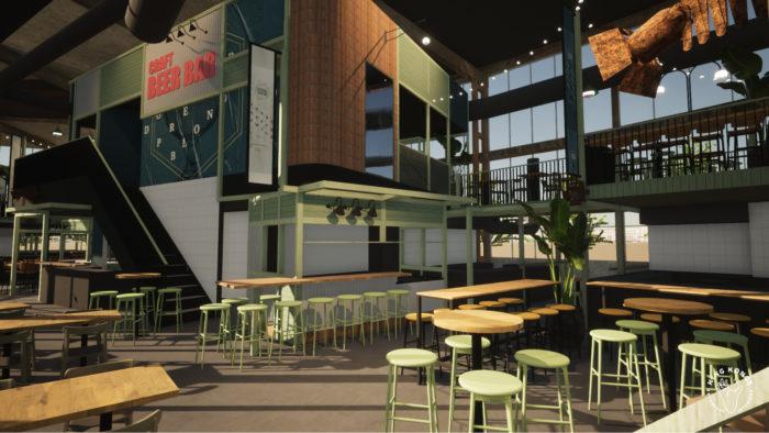 Binnenkort Opent Er Ook Een Eethal In Tilburg In De Voormalige NS-loods
