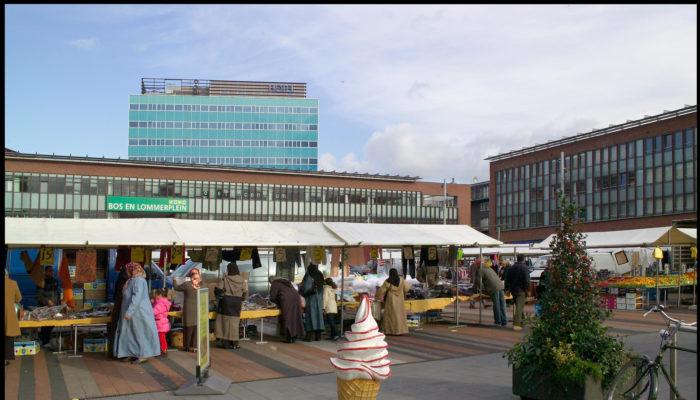 Nieuwe Tijdelijke Markt Op Bos En Lommerweg