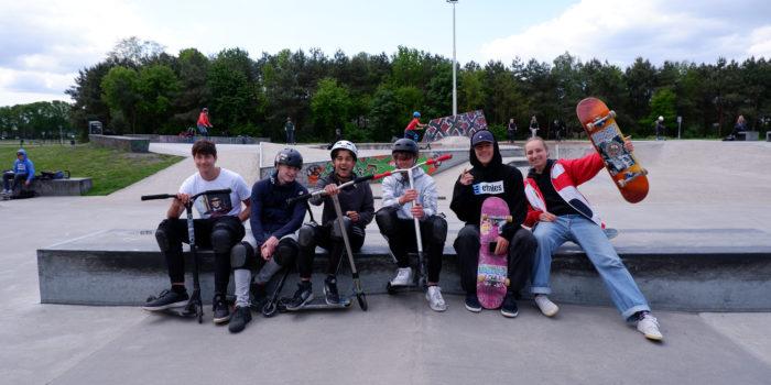 Het Skatepark In Het Reeshofpark Is Toe Aan Uitbreiding.