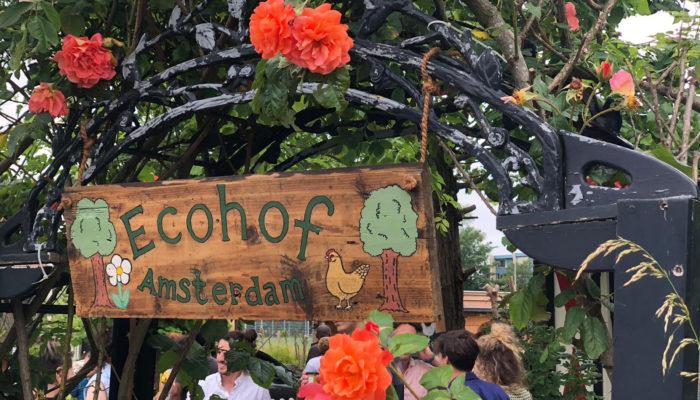 Ecohof Amsterdam Feestelijk Geopend