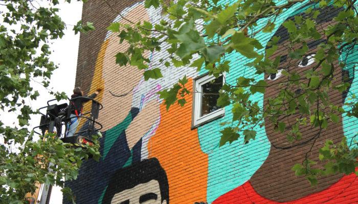Privacy Muurkunst In Nieuw-West