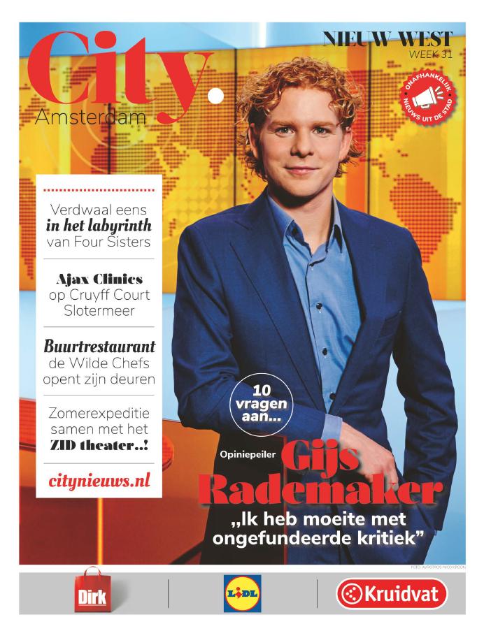 10 Vragen Aan... Gijs Rademaker