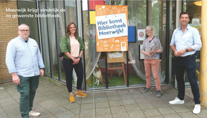 Pop-up Bibliotheek In Moerwijk Wordt Realiteit