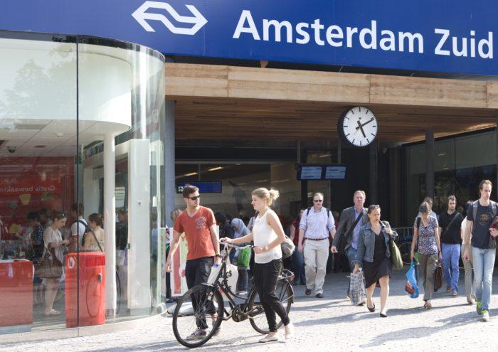 Station Amsterdam Zuid Zal Er Binnenkort Anders Uitzien.