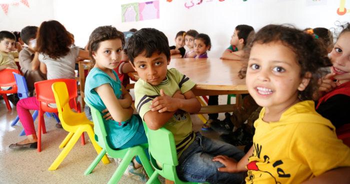 Kinderen Leren Plannen, Samenwerken En Presenteren.