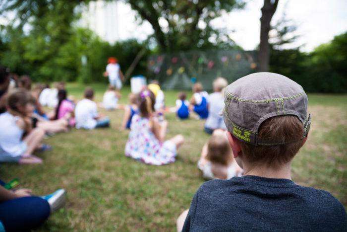 Magisch Festival Voor Kinderen In Park Frankendael.
