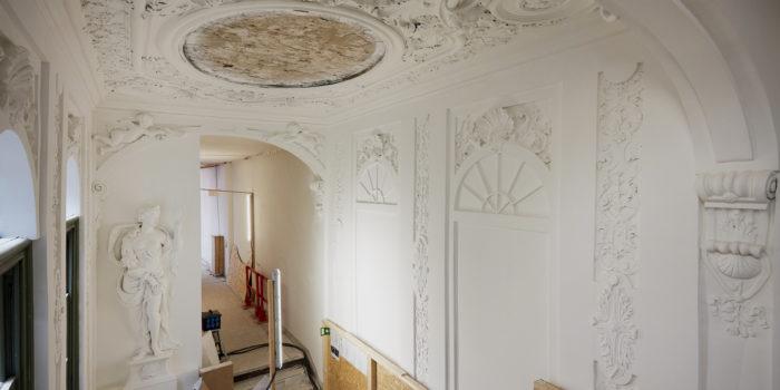 Het Pieter Teylers Huis Ondergaat Een Grootschalige Renovatie.
